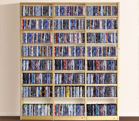 25+ Dvd Storage Ideas You Had No Clue About (View 1 of 15)