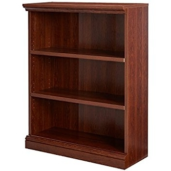 3 Shelf Bookcases Intended For Most Up To Date Amazon: Sauder 412808 Sauder Select 3 Shelf Bookcase, Select (View 6 of 15)