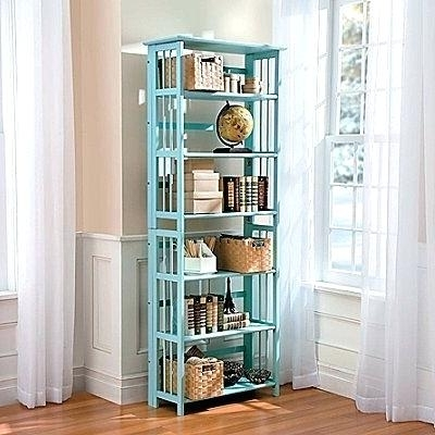 3 Tier Folding Bookcase 3 Tier Bamboo Folding Bookcase 3 Tier With Regard To 2018 Folding Bookcases (Gallery 11 of 15)