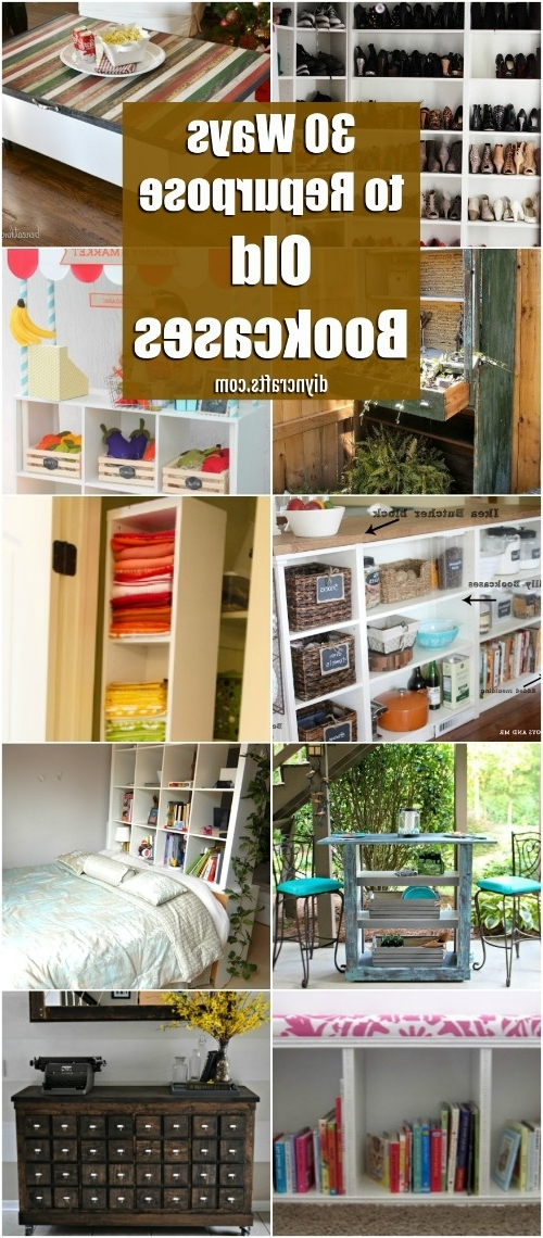 30 Genius Ideas For Repurposing Old Bookcases Into Exciting New With Newest Repurpose Bookcases (View 2 of 15)