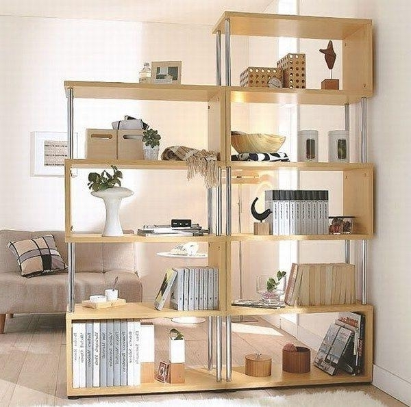 30 Space Saving Ideas To Add Shelving Units To Modern Interior Design In Best And Newest Freestanding Bookcases Wall (View 1 of 15)