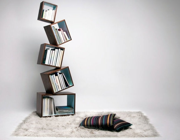 33 Creative Bookshelf Designs Bored Panda Unique Bookshelves For Most Recent Unique Bookcases Designs (View 1 of 15)