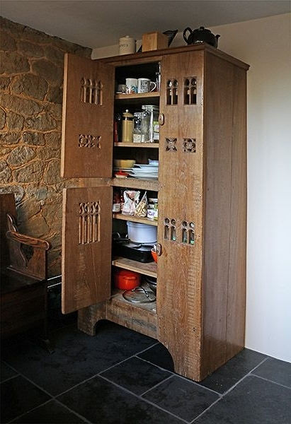 34 Best Oak Cupboards, Reproduction Images On Pinterest With Regard To Latest Oak Cupboards (View 1 of 15)