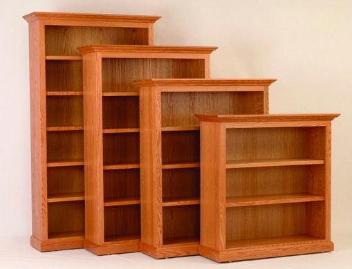 "36 Inch Wide Bookcases In Best And Newest 48"" Wide Executive Bookcase (View 11 of 15)"