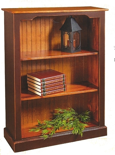 36 Inch Wide Bookcases Regarding Most Recently Released J&k Country Pine Furniture (Gallery 7 of 15)