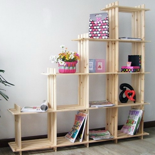 38 Handmade Bookcases, Cheap Bookshelves Tips On How To Get The Regarding Popular Bookshelves Handmade (View 3 of 15)