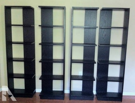 4 Crate & Barrel Elements Reversible Bookcase – For Sale In Miami Regarding Well Known Crate And Barrel Bookcases (View 1 of 15)