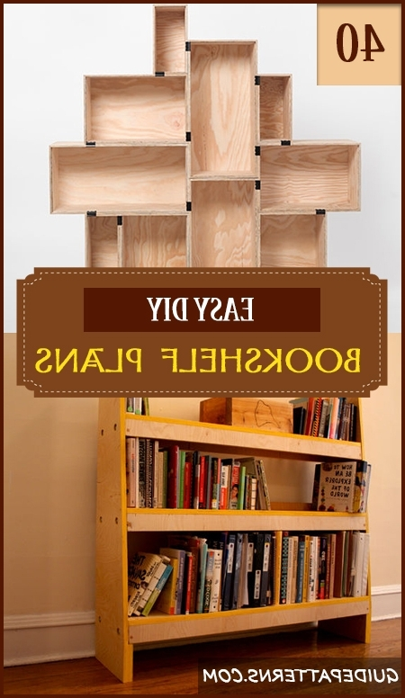 40 Easy Diy Bookshelf Plans (View 3 of 15)