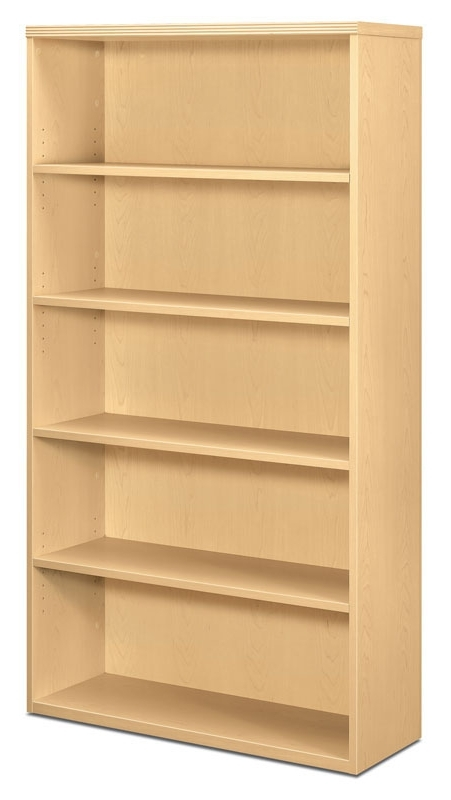5 Shelf Bookcases For Most Current Hon Park Avenue 5 Shelf Bookcase (Gallery 2 of 15)