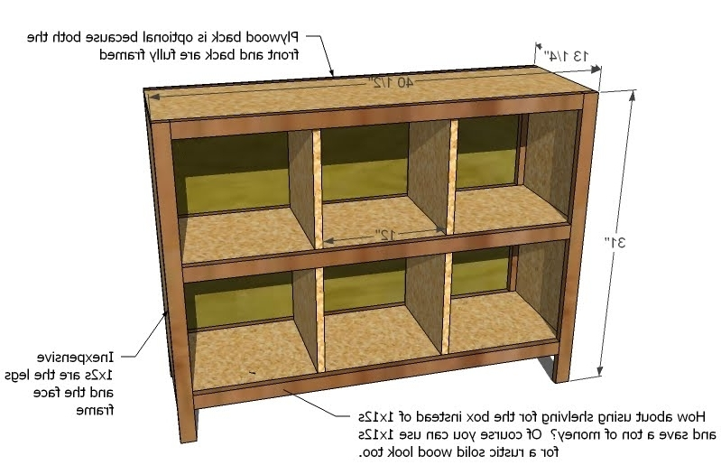 6 Cube Bookshelf – Diy Projects (View 4 of 15)