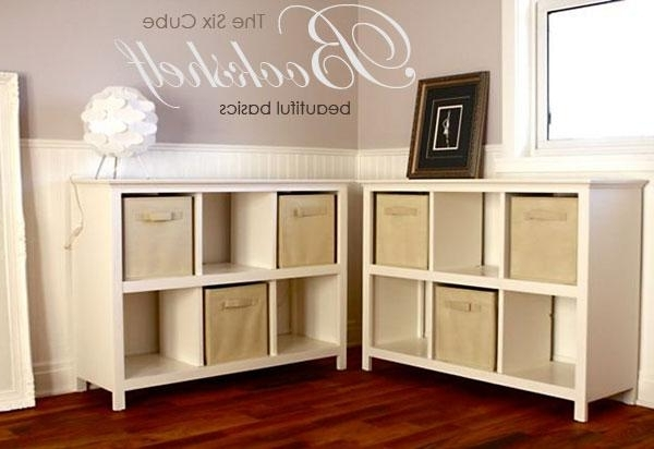 6 Cube Bookshelf – Diy Projects (Gallery 10 of 15)