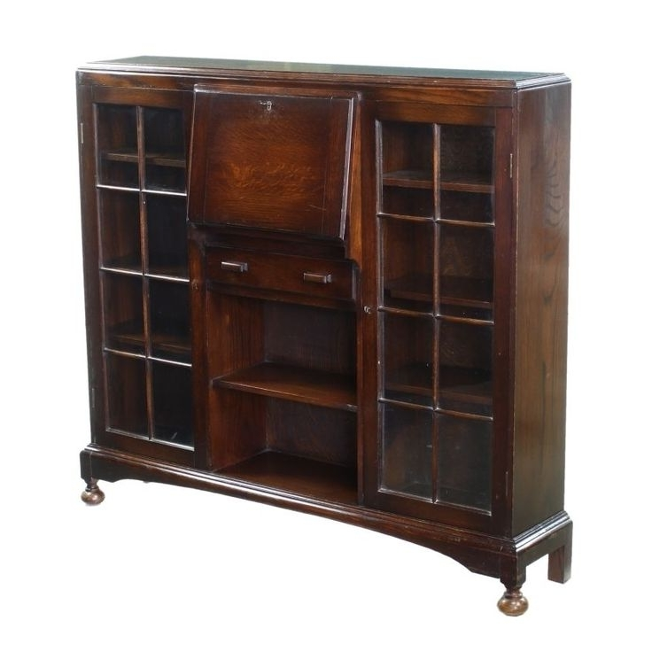 62 Best Antique Furniture–Secretary And Bookcases Images On With Most Current Oak Glazed Bookcases (View 3 of 15)
