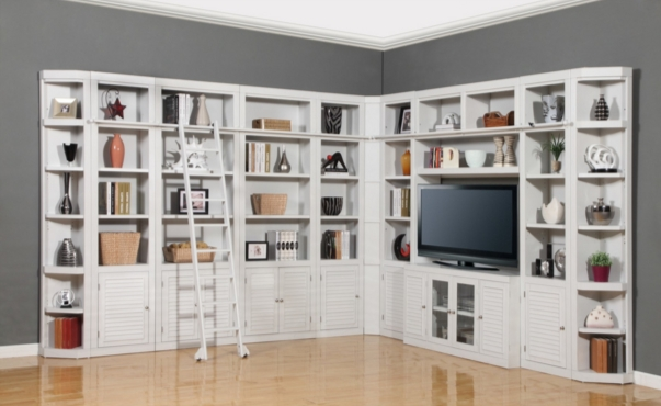 7 Great Bookcases For Your Home Library – Cute Furniture Intended For Newest White Library Bookcases (View 1 of 15)