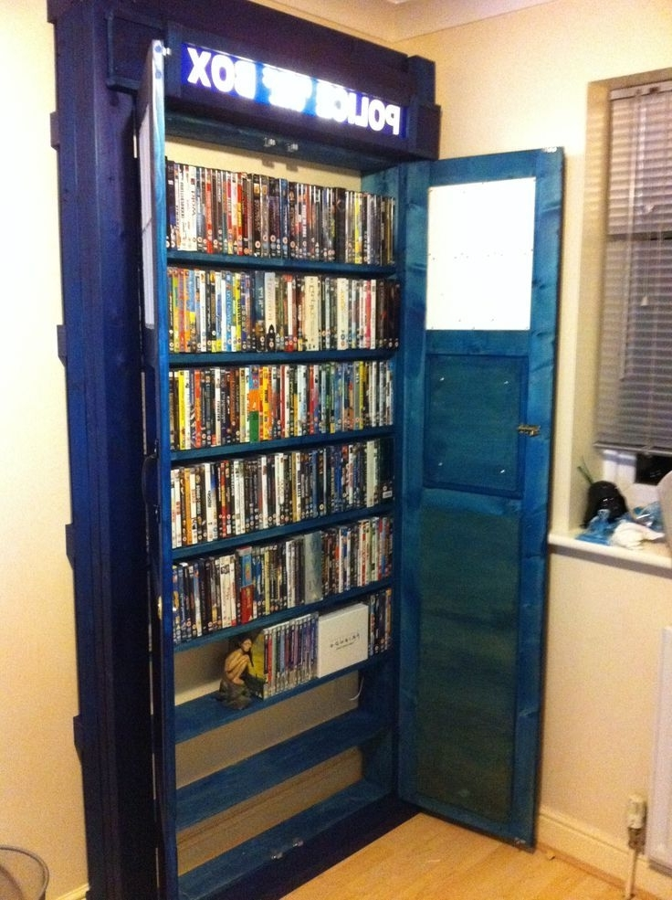 A Doctor Who Tardis Built In Bookcase (View 2 of 15)
