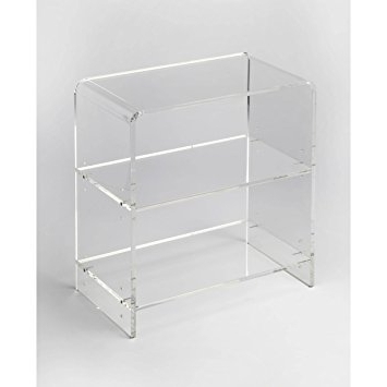 Acrylic Bookcases Intended For Widely Used Amazon: Woybr 3611335 Bookcase Modern: Kitchen & Dining (View 2 of 15)