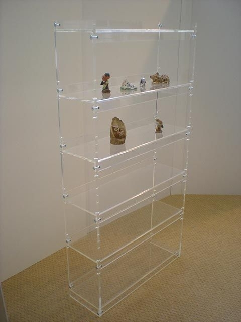 Acrylic Bookcases Regarding Most Popular Acrylic Bookcase (View 3 of 15)
