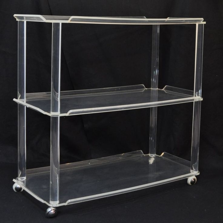 Acrylic Furniture With Regard To Acrylic Bookcases (View 6 of 15)