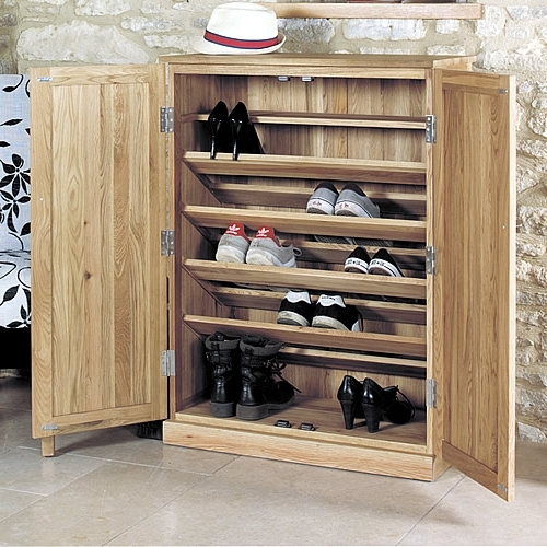 Adorable Shoe Storage Cabinet Large Oak Shoe Storage Cupboard With Regard To Current Large Storage Cupboards (View 5 of 15)