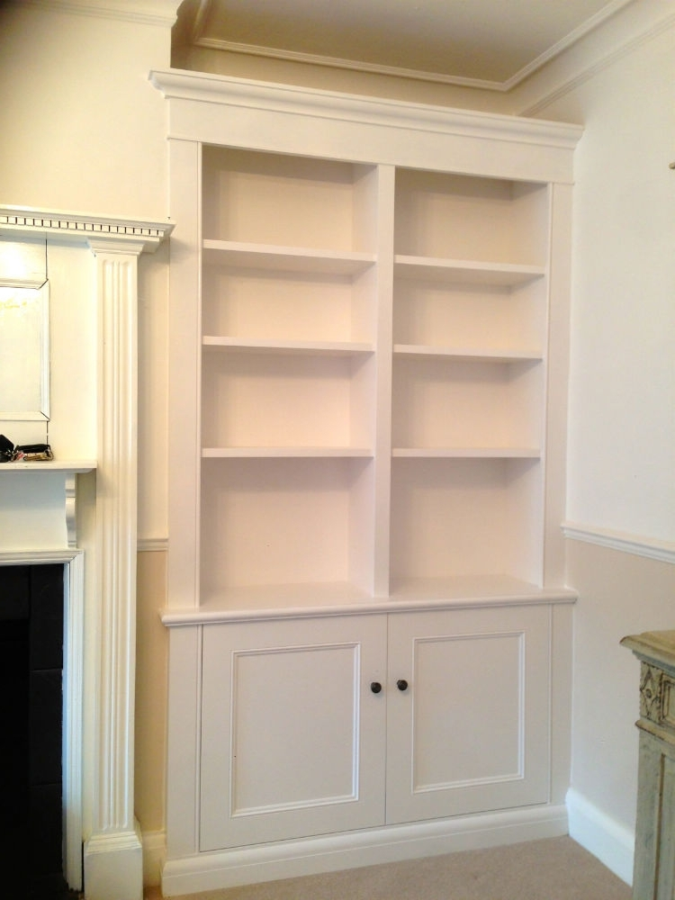 Alcove Bookcases Throughout Best And Newest Traditional Alcove Unit – The Bookcase Co (View 2 of 15)