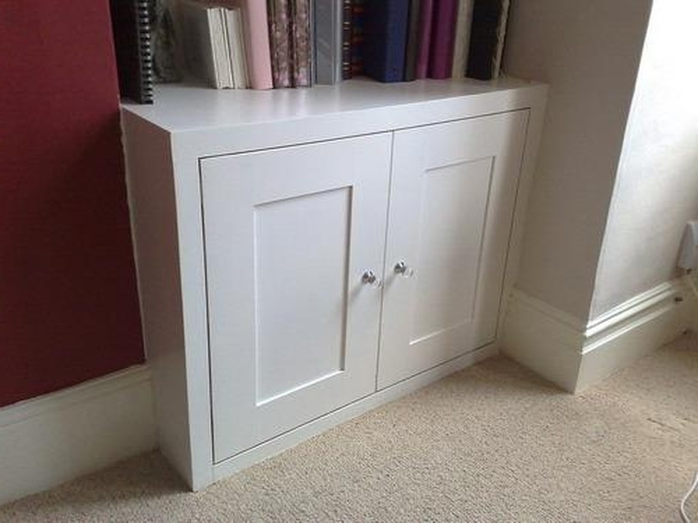 Alcove Cupboard And/or Radiator Cover – Carpentry & Joinery Job In Throughout Preferred Radiator Cupboards (View 1 of 15)