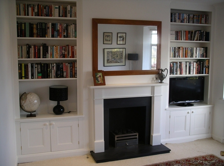 Alcove Cupboards And Shelving – Moneysavingexpert Forums Within Most Current Fitted Shelves And Cupboards (View 4 of 15)
