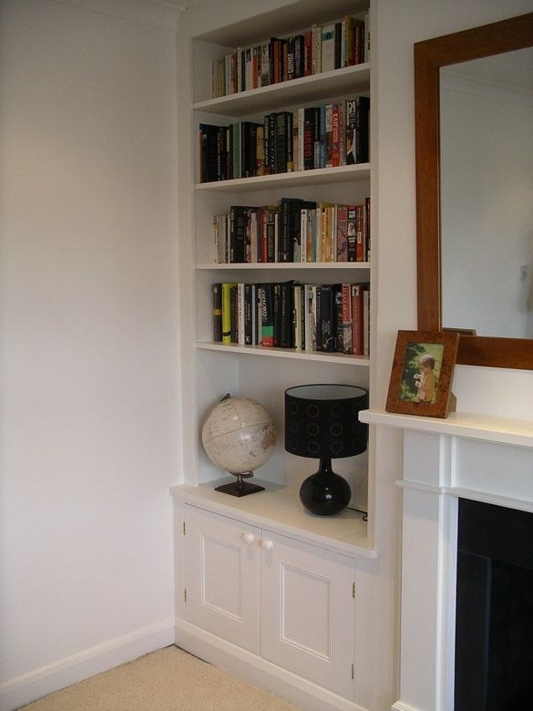 Alcove Shelving, Alcove Intended For Handmade Cupboards (View 2 of 15)