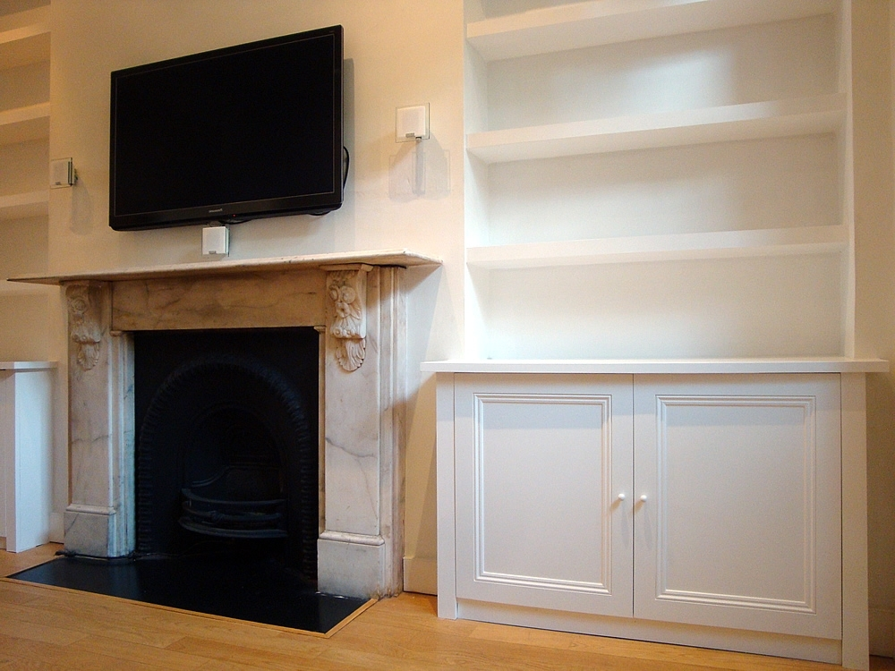 Alcove Shelving And Cabinet (View 2 of 15)