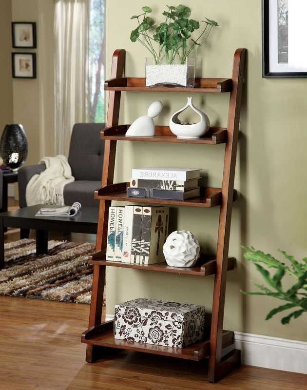 Allmodern Throughout Well Liked Leaning Bookcases (View 6 of 15)