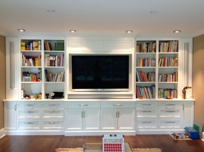 Amazing Design Full Wall Shelves Units Inspiring To Bookshelves In Well Liked Whole Wall Shelves (View 1 of 15)