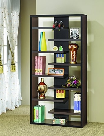 Amazon: Coaster Home Furnishings 800265 Casual Bookcase Regarding Famous Backless Bookshelves (View 1 of 15)