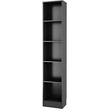 Amazon: Element Tall Skinny Bookshelf: Kitchen & Dining Regarding Most Current Skinny Bookcases (View 10 of 15)