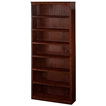 Amazon: Harvard Book Shelf, 84 Inch, Antique Walnut: Kitchen In Favorite 84 Inch Tall Bookcases (View 8 of 15)