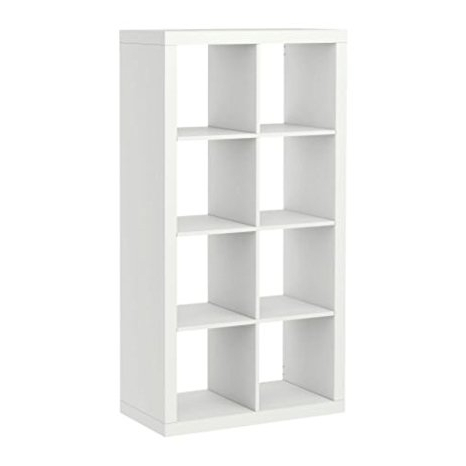 Amazon: Ikea Kallax Bookcase Room Divider Cube Display: Home With Regard To Latest Ikea Cube Bookcases (View 2 of 15)