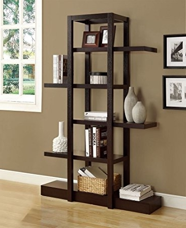 Amazon: Monarch Specialties I 2541, Bookcase Open Concept Throughout Most Up To Date Monarch Bookcases (View 3 of 15)