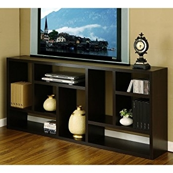 Amazon: Tv Stand Is Great Display Cabinet And Bookshelf (View 3 of 15)