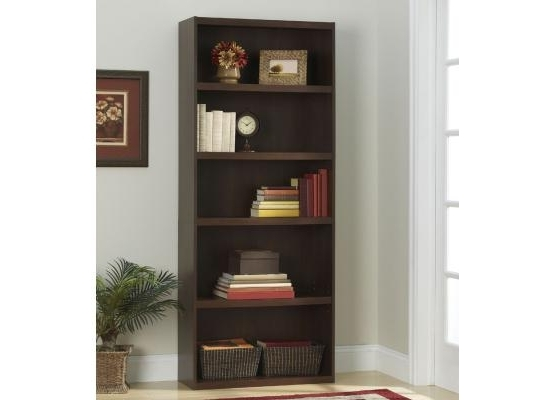 Ameriwood 5 Shelf Bookcase 9602207P Intended For Most Recently Released Ameriwood 5 Shelf Bookcases (View 6 of 15)