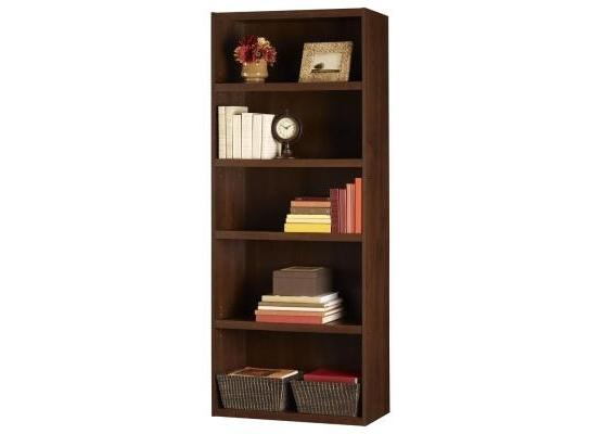 Ameriwood 5 Shelf Bookcase 9602207P With Current Ameriwood 5 Shelf Bookcases (View 12 of 15)