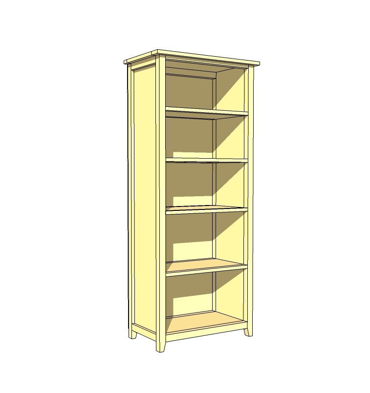 Featured Photo of Diy Bookcases Plans