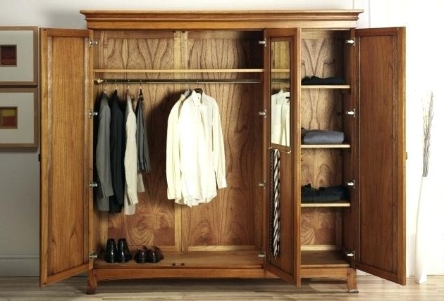 Armoire ~ Storage Armoire Wardrobe Closet Wardrobes Black Bedroom With Regard To 2018 Solid Wood Wardrobes Closets (View 1 of 15)