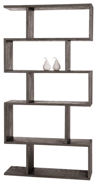 Arteriors Carmine Bookshelf – Contemporary – Bookcases – With Regard To 2017 Contemporary Oak Bookcases (View 5 of 15)