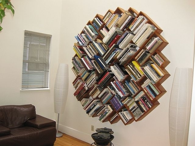 Awesome Round Bookcase Pictures – Best Inspiration Home Design In Most Current Round Bookcases (View 2 of 15)