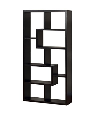Backless Bookshelves For Most Up To Date Amazon: Iohomes Modern Backless Display Stand/bookcase, Black (View 3 of 15)