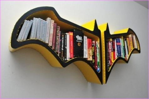 Batman Bookcases For Famous 37 Diy Bookshelf Ideas: Unique And Creative Ideas (View 3 of 15)