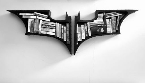 Batman Bookcases Intended For Well Liked Superhero Storage Systems : Batman Bookshelf (View 5 of 15)