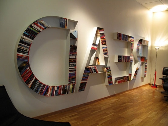 Beautiful Unique Bookshelf Cool And Unique Bookshelves Designs For Intended For 2017 Unique Bookcases (View 12 of 15)