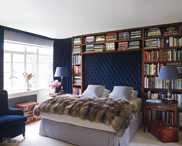 Bedroom Bookcases Throughout Famous My Notting Hill: Bookshelves In The Bedroom – Yes Or No? (View 6 of 15)
