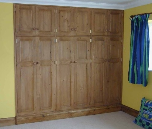 Bedroom Wardrobe – Pineland Furniture Ltd With Current Fitted Wooden Wardrobes (View 1 of 15)