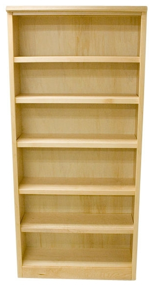 Belka Furnishings Llc – 6 Shelf Urban Maple Bookcase, Natural Within Famous 6 Shelf Bookcases (View 5 of 15)