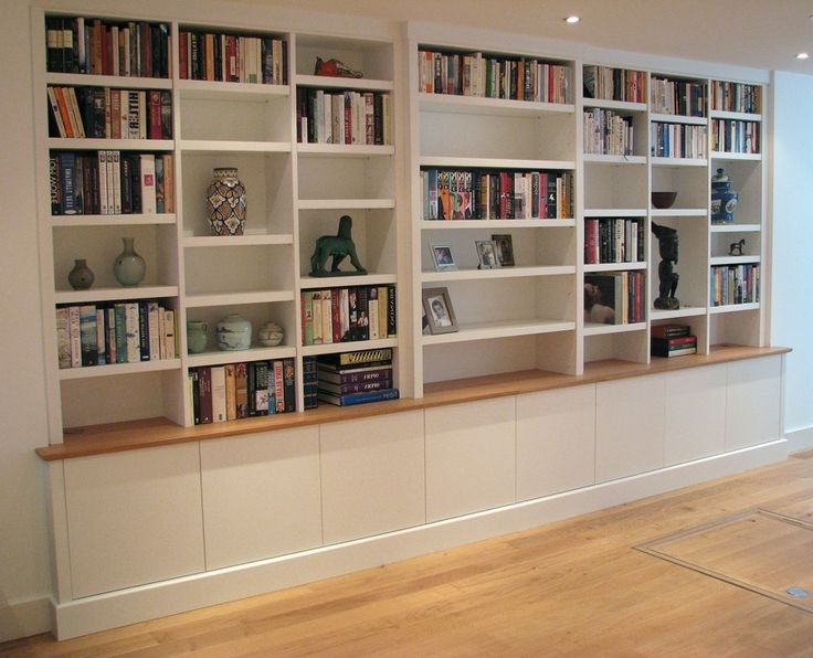 Bespoke Bookcases Shelves Libraries Dream Home Pinterest – Lentine Throughout Best And Newest Bespoke Shelving (View 1 of 15)