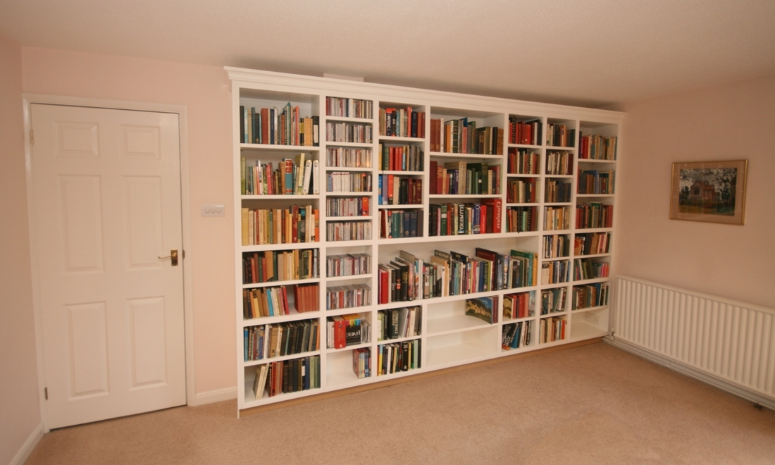 Bespoke Bookshelves Enlargement 2 With Regard To Newest Bespoke Bookshelves (View 2 of 15)
